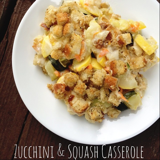 zuccini and squash casserole